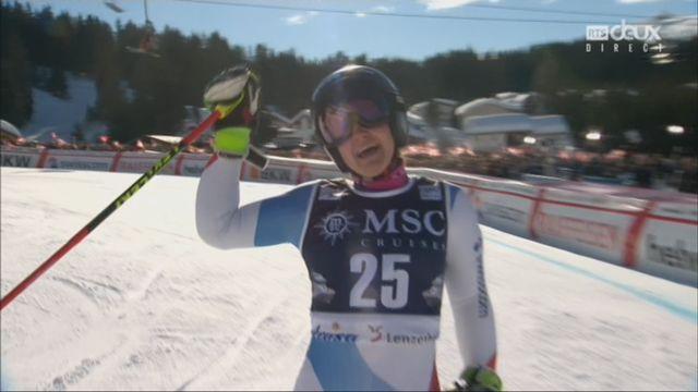 Géant dames, Lenzerheide (SUI), 2e manche: Simone Wild (SUI) [RTS]