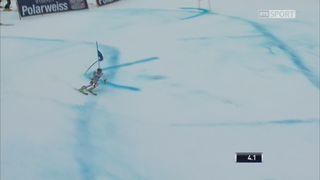 Garmisch (ALL), Géant messieurs, 1re manche: la course de Justin Murisier (SUI) [RTS]