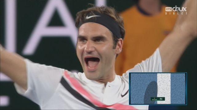 Messieurs, finale: Federer (SUI) - Cilic (CRO) (6-2, 6-7, 6-3, 3-6, 6-1): Federer remporte son 20e titre du Grand Chelem [RTS]