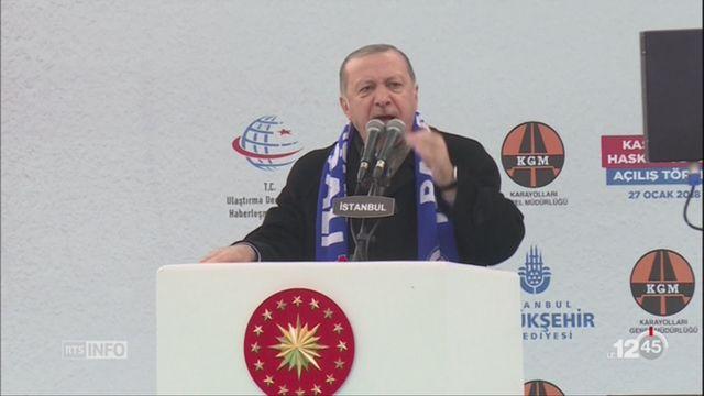 Syrie: Ankara hausse le ton avec les Etats-Unis [RTS]