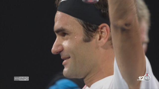 Open d'Australie - Victoire de Federer: le point avec Piere-Alain Dupuis [RTS]