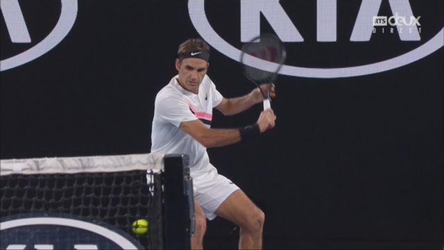 Messieurs, finale: Federer (SUI) - Cilic (CRO) (6-2, 6-7, 6-3, 3-6, 6-1): les meilleurs points du match [RTS]