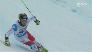 Garmisch (ALL), Géant messieurs, 2e manche: Justin Murisier (SUI) 5e provisoire [RTS]