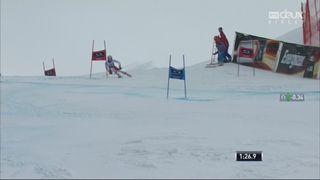 Garmisch (ALL), Géant messieurs, 2e manche: 6e place provisoire pour Loïc Meillard (SUI) [RTS]