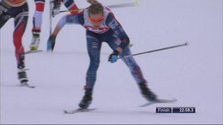 10 km dames, Seefeld (AUT): victoire de Jessica Diggins (USA) [RTS]