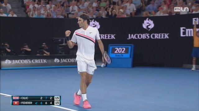 Finale de l'Open d'Australie: sélections des meilleurs moments [RTS]