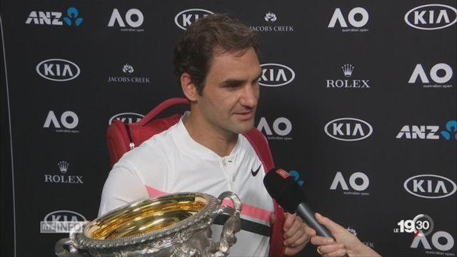 Open d'Australie: Federer s'offre un 20ème trophée en Grand Chelem [RTS]