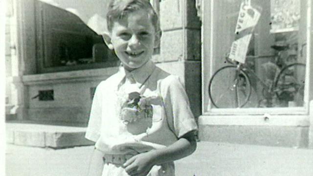 Claude Frey enfant. [RTS]