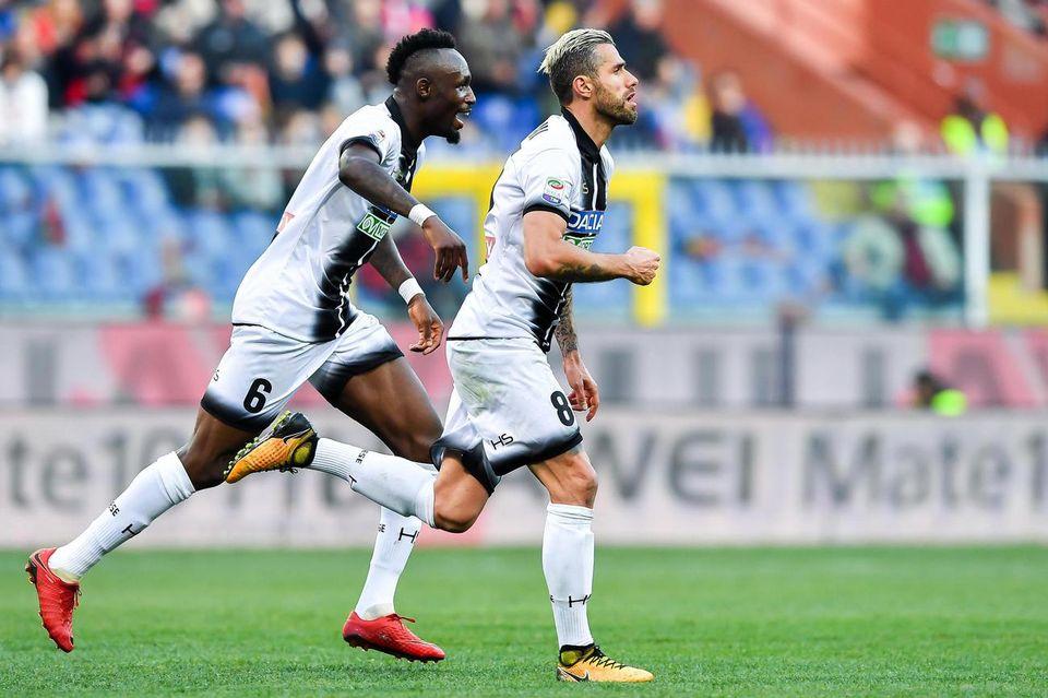 La prestation de Valon Behrami avec l'Udinese n'est pas passée inaperçue. [Simone Arveda - Keystone]