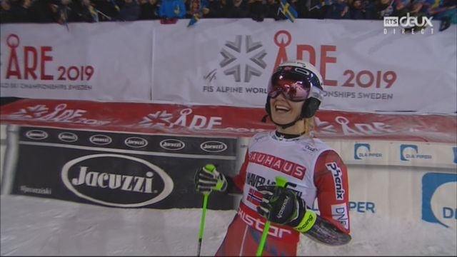 Slalom dames : Victoire de Haver-Loeseth (NIOR), Holdener (SUI) 2e et Vlhova (SVK) 3e [RTS]