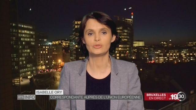 Equivalence boursière: le point avec Isabelle Ory, à Bruxelles [RTS]