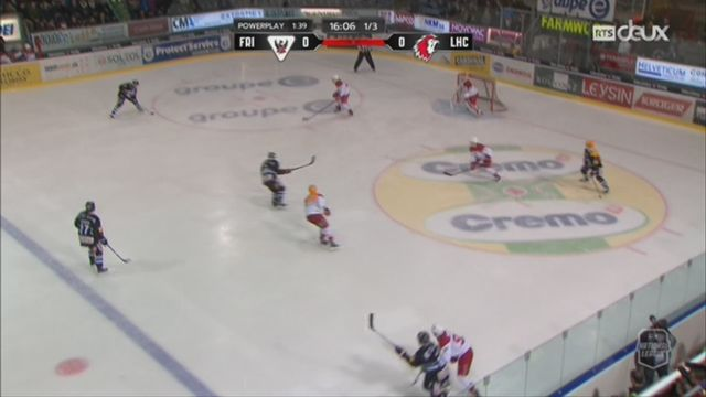 Hockey - National League: Fribourg - Lausanne (4-1) [RTS]