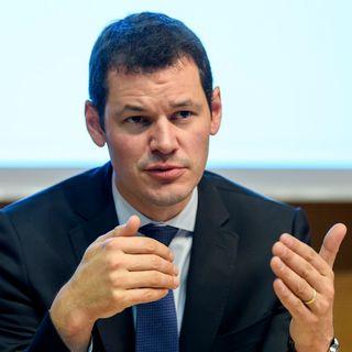 Pierre Maudet, chef du Département genevois de la sécurité et de l'économie. [Martial Trezzini - Keystone]