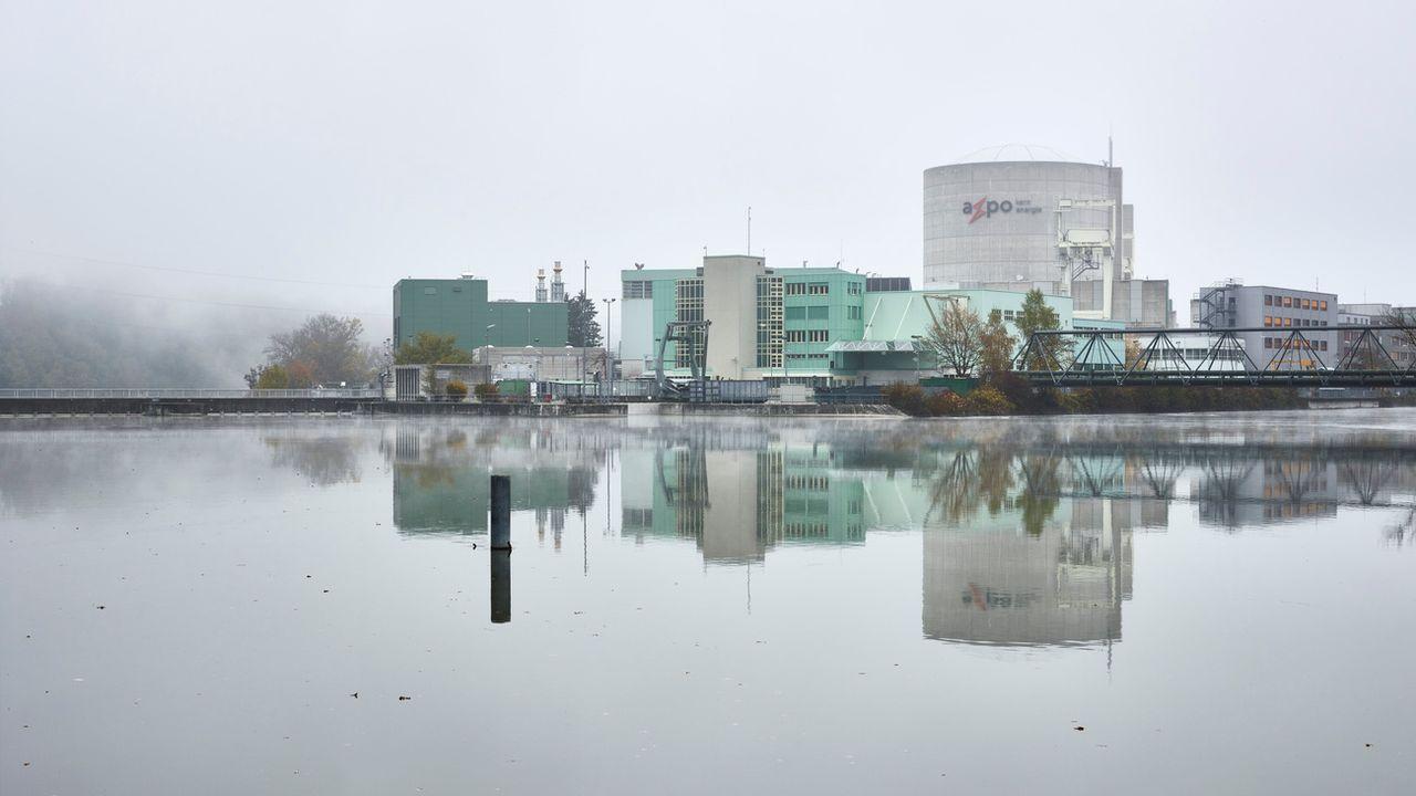 Le réacteur du bloc 1 de la centrale nucléaire de Beznau (AG). [Christian Beutler - Keystone]