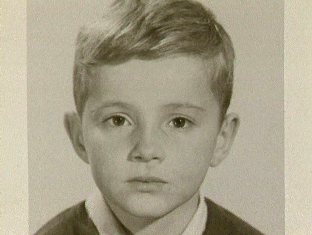 Thierry Barrigue enfant.