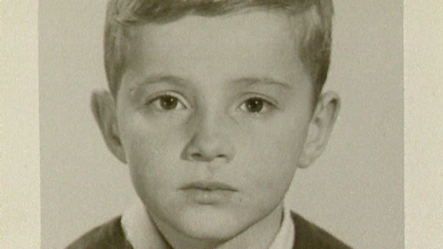 Thierry Barrigue enfant. [RTS]