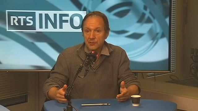 Nicolas Bancel, historien du sport, professeur à l'Institut des sciences du sport de l'Université de Lausanne. [RTSinfo]