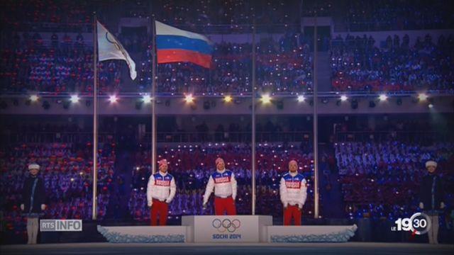 Dopage athlètes russes: Le CIO désavoué [RTS]