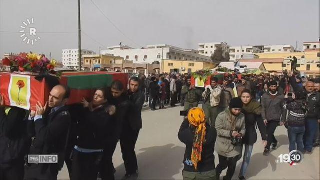 Syrie: La question kurde [RTS]