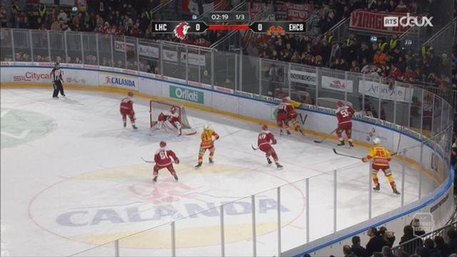 Hockey - NL (46e j.): Lausanne – Bienne (1-2 tb) [RTS]