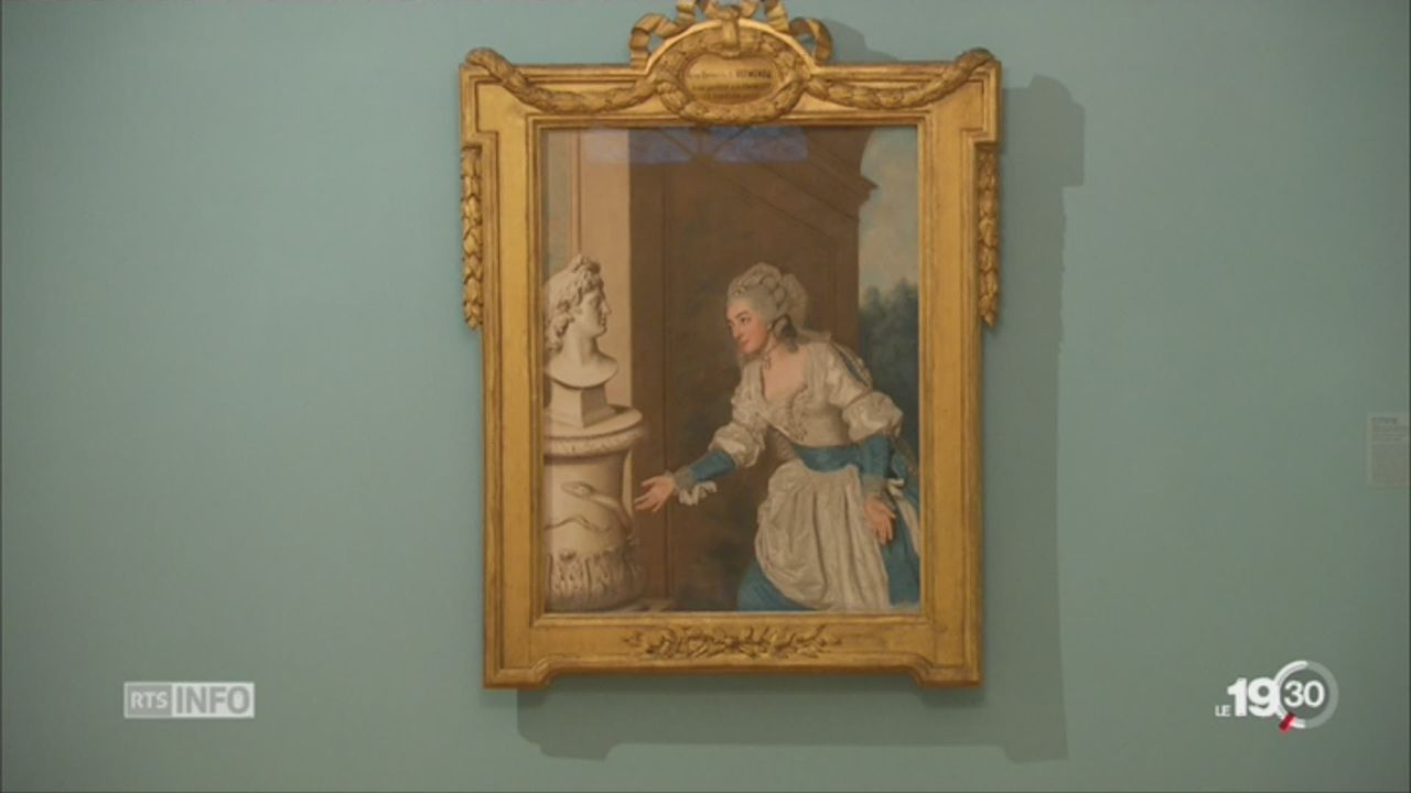 La fondation de l'Hermitage consacre une exposition au pastel sec [RTS]