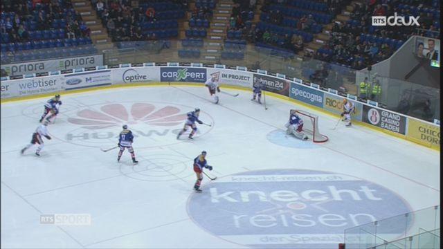 Hockey-NL, 47e journée: Kloten – Genève (3-4 tb) [RTS]