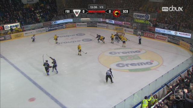 Hockey-NL, 47e journée: Fribourg – Berne (3-2) + itw de Julien Sprunger, attaquant de Fribourg [RTS]