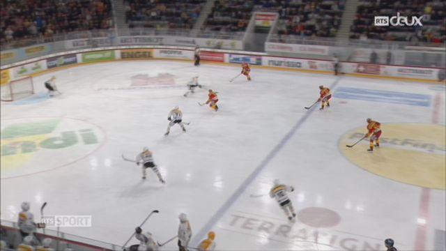 Hockey-NL, 47e journée: Bienne – Lugano (3-1) [RTS]
