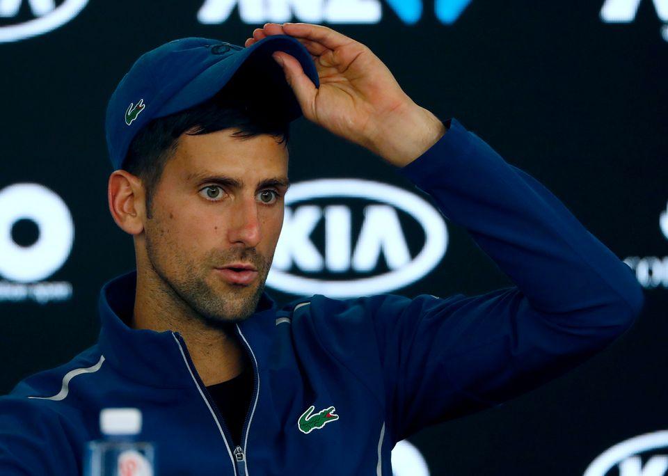Djokovic a confirmé avoir subi une opération au coude. [NG Han Guan - Keystone]