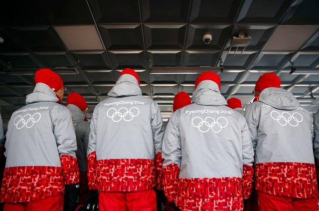 15 Russes blanchis sont désormais éligibles pour les JO de Pyeongchang. [Patrick Semansky - Keystone]