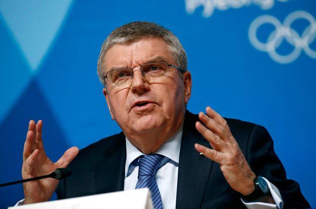 Le président du CIO Thomas Bach réclame une réforme du TAS. [Patrick Semansky - Keystone]