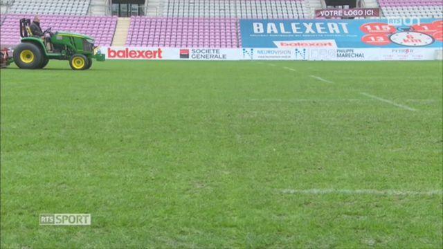 Football: coup de projecteur sur l'évolution des pelouses [RTS]