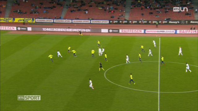 Football-Super League, 20e journée: Young Boys – St Gall (2-0) + Zurich – Thoune (2-4) + tableaux des résultats et classements [RTS]