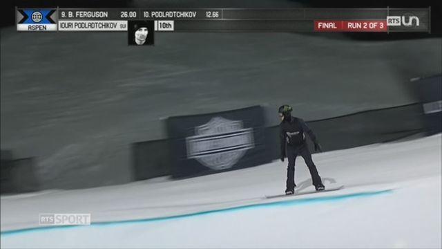 Iouri Podladtchikov sera présent au JO de PyeongChang malgré une loudre chute [RTS]
