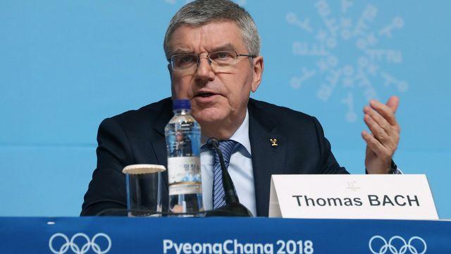 Le président du CIO Thomas Bach. [Yonhap - Keystone]