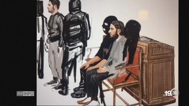 Salah Abdeslam: le premier procès s'ouvre à Bruxelles [RTS]