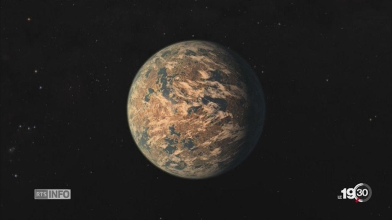 Espace: une jumelle de la Terre a été découverte [RTS]