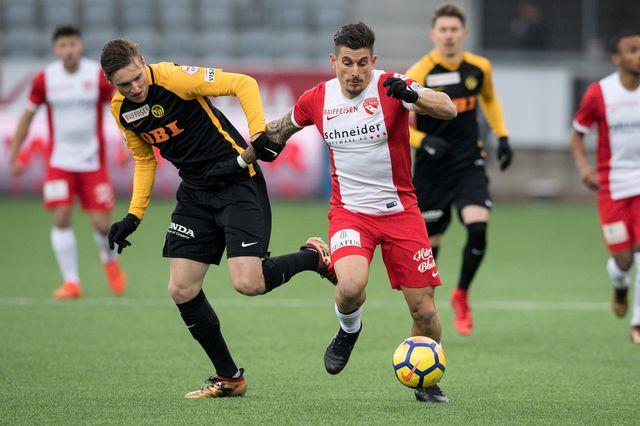Football, championnat de Suisse 22e journée, Young Boys-Thoune [Peter Schneider - Keystone]