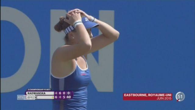 Tennis - WTA Toronto: Belinda Bencic décroche son second titre sur le circuit WTA [RTS]