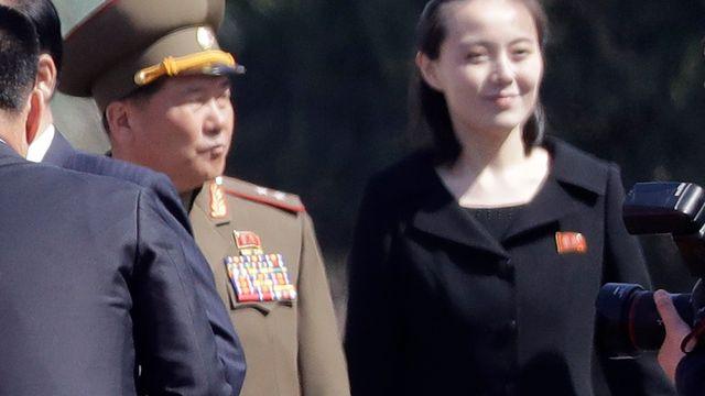 Kim Yo Jong, la soeur du leader nord-coréen Kim Jong Un. [Wong Maye-E - AP Photo]