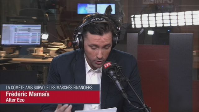 Alter Eco (vidéo) - La comète AMS survole les marchés financiers [RTS]