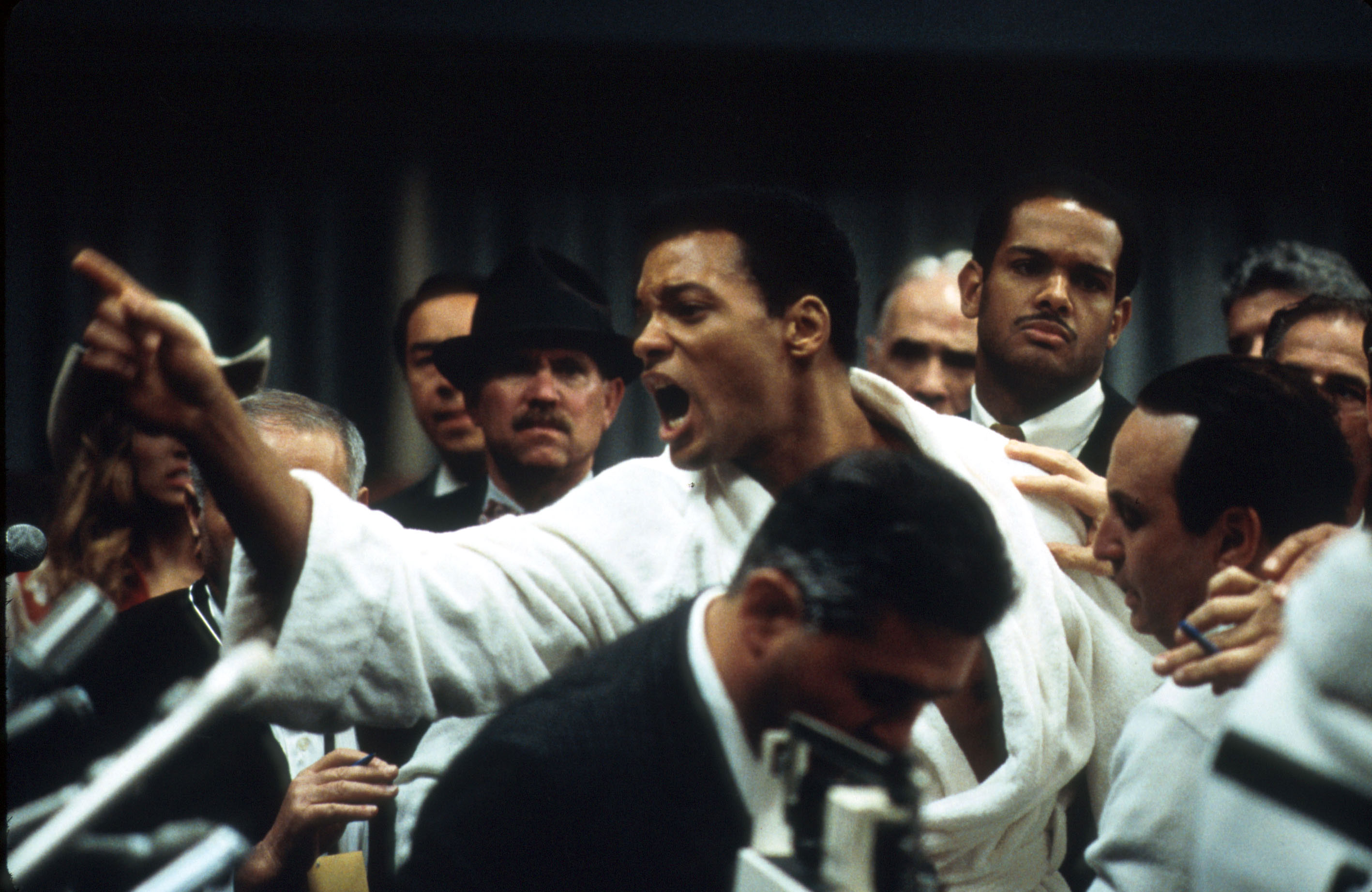 """Ali"", biopic de l'ex-Cassius Clay, avec Will Smith."