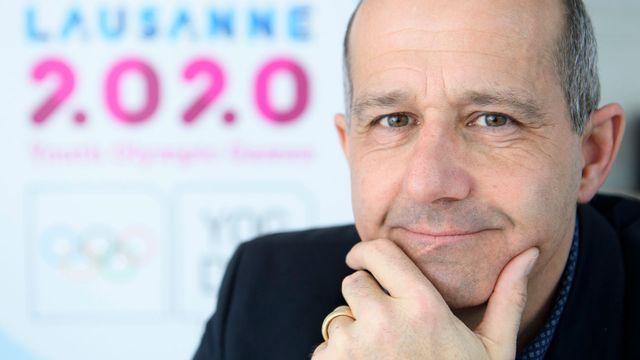 Ian Logan, le directeur général de Lausanne 2020. Laurent Gillieron Keystone [Laurent Gilliéron - Keystone]