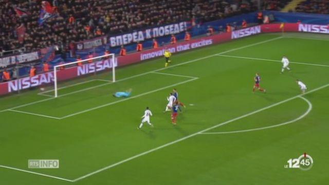 Football - Ligue des Champions: le FC Bâle gagne face au CSKA Moscou [RTS]