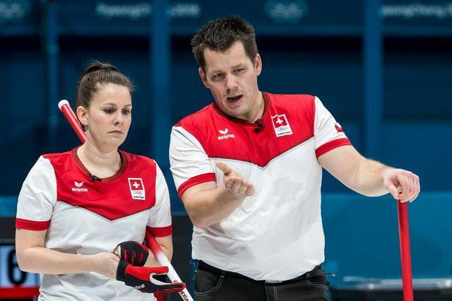 Jenny Perret et Martin Rios sont de sérieux candidats aux demi-finales. [Alexandra Wey - Keystone]