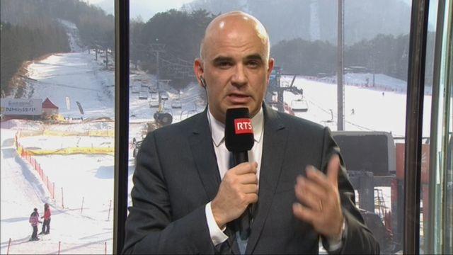 L'invité de Romain Clivaz (vidéo) - Alain Berset, président de la Confédération [RTS]