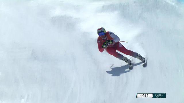 JO 2018 - Ski alpin, descente entrainement : B. Feuz [RTS]