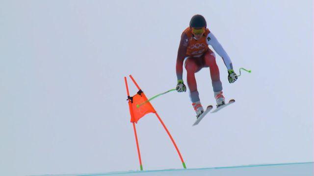 JO 2018 - Ski alpin, entrainement descente: M.Gisin(SUI) [RTS]