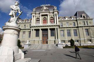 L'affaire des athlètes russes devait rebondir devant le Tribunal d'arrondissement de Lausanne. [Laurent Gilliéron - Keystone]