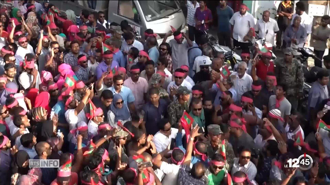 Grave crise politique aux Maldives [RTS]